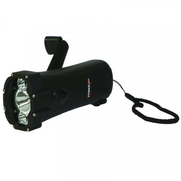 Dynamodriven LED-ficklampa