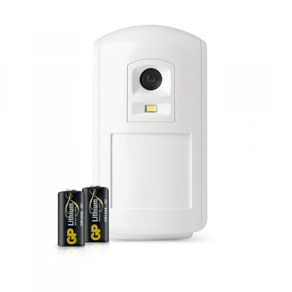 Batteripaket (2 st), Kamera IR med blixt, Domonial