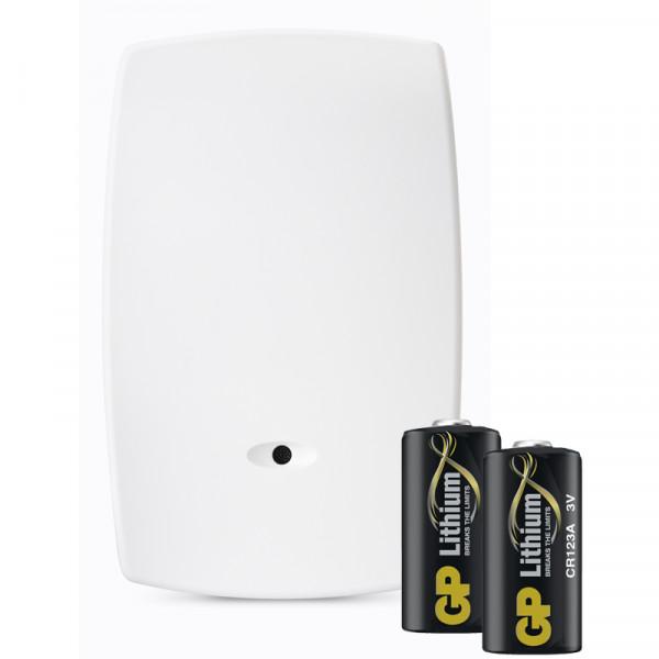 Batteripaket (2 st), Glaskrossdetektor, Domonial