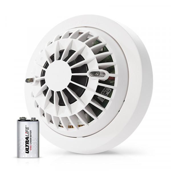 Batteri, Rökdetektor (9V), Visonic